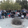 A youth group drawing members from the Catholic churches throughout Amman gathers weekly for meals and fellowship.