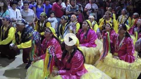 Dancing for the Virgin in La Tirana, Chile